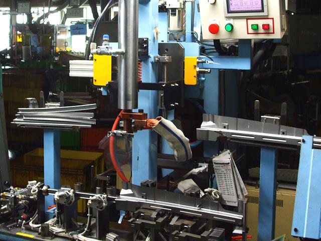 マルチスポット溶接機および各種専用機械